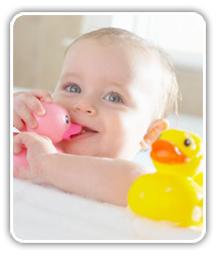 Baño del bebe