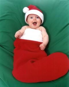 Bebé de Papá Noel