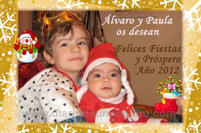 tarjeta navidea personalizada postales navidad personalizadas - Postales Navideas Personalizadas